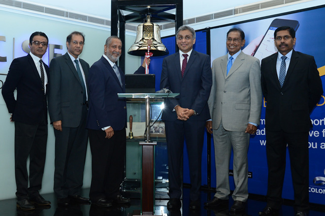 NDB opens trading for September at Colombo Stock Exchange