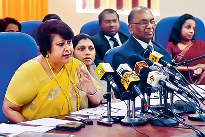Sri Lanka anti-corruption chief quits after president's criticism