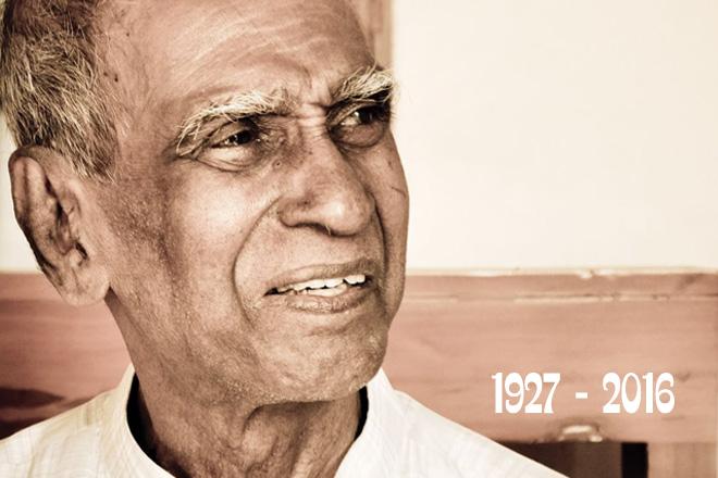 Sri Lanka's veteran musician Pandit Amaradewa no more