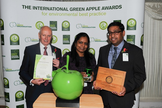 Sri Lanka's Eswaran Brothers wins Gold for environmental best practices