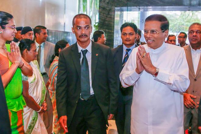 Sri Lanka's President arrives in Malaysia