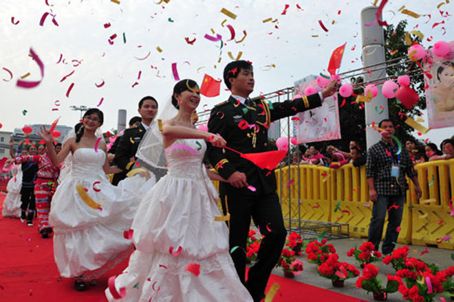 200 Chinese couples eye mass wedding in Sri Lanka