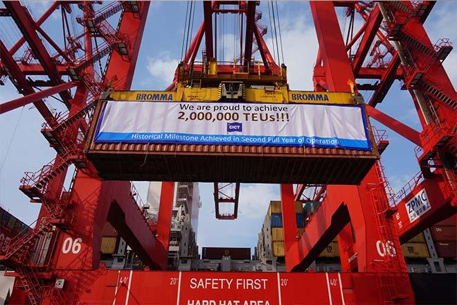 Colombo Port volumes grow, CICT surpasses 2mln TEUs
