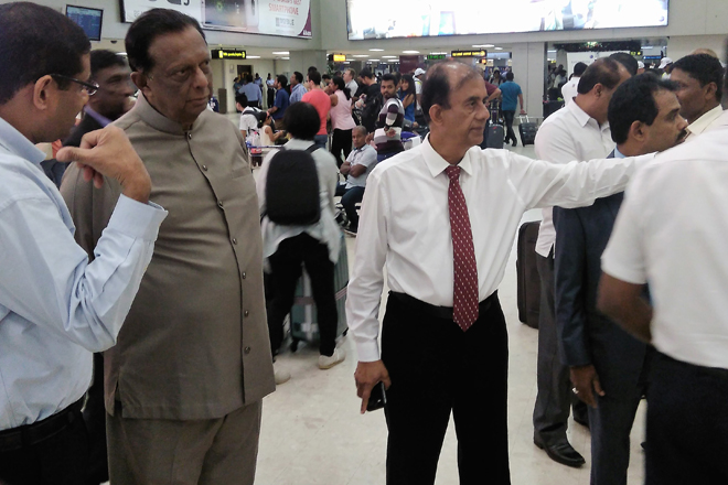 Sri Lanka's main Airport congestion now under control: Minister