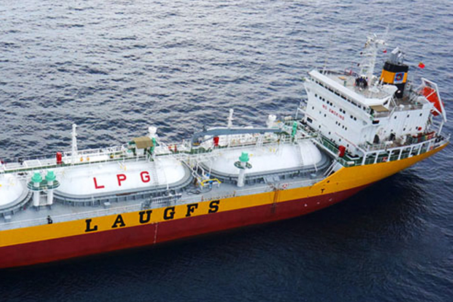 Sri Lanka's Laugfs buys third LPG carrier vessel for USD2.9mn