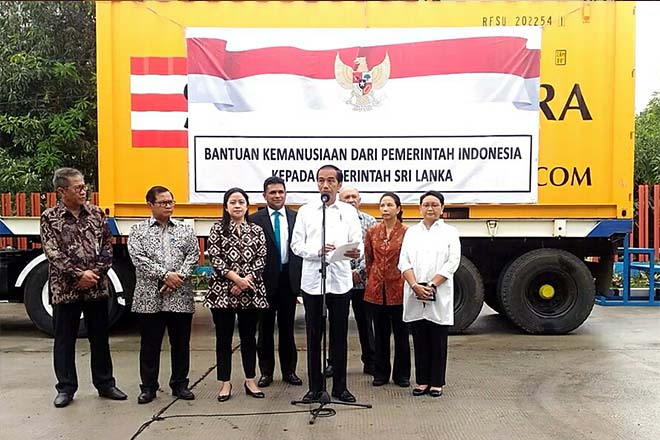 Indonesia donates 5,000MT of rice to Sri Lanka