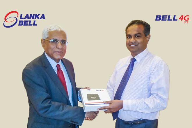 Lanka Bell reaches record 35,000+ households & businesses with Bell4G