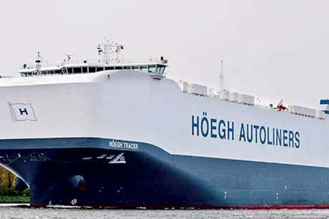 World's largest car, truck carrier to call at Hambantota port