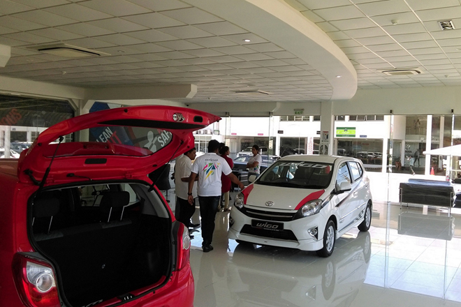 Toyota Lanka opens dedicated showroom for its first 1000cc car