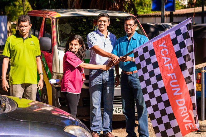 Young Chartered Accountants show off driving skills at Fun Drive 2017