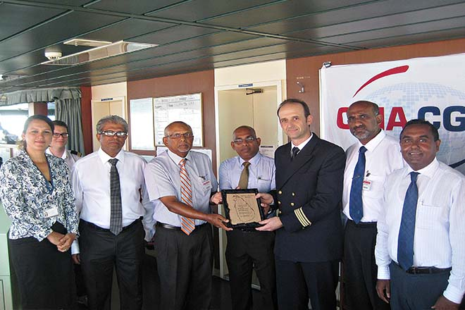 CICT attracts first new service to Colombo from Ocean Alliance
