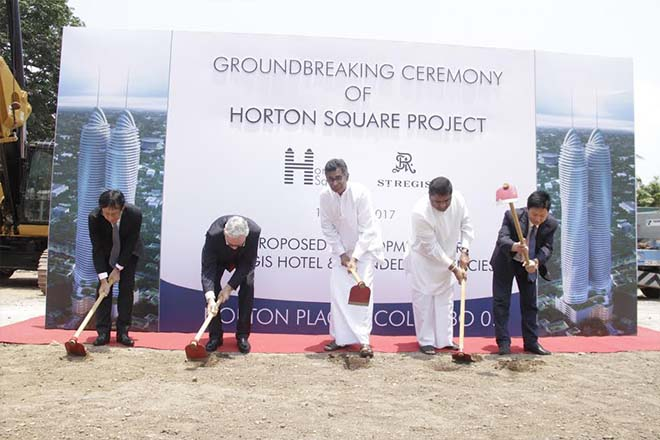 Horton Square USD 250mn project breaks ground