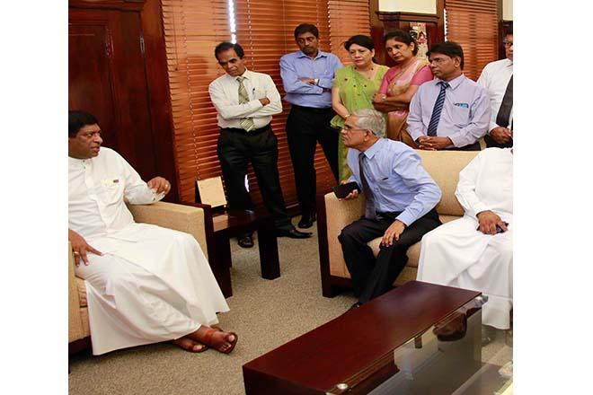 Ravi K bids farewell at Finance Ministry