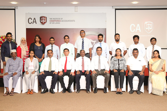 CA Sri Lanka members recognized as forensic accounting specialists