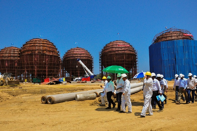 LAUGFS says LPG Terminal in Hambantota on schedule for 2018