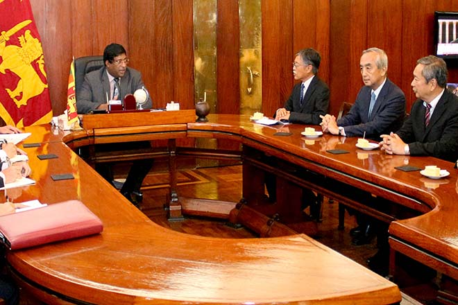 Japanese ambassadors in five SAARC countries meet Foreign Minister Ravi