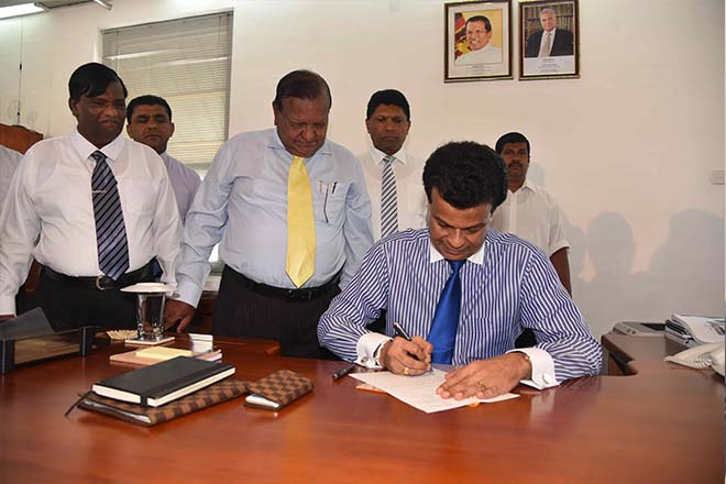 New Chairman assumes duties at SLPA