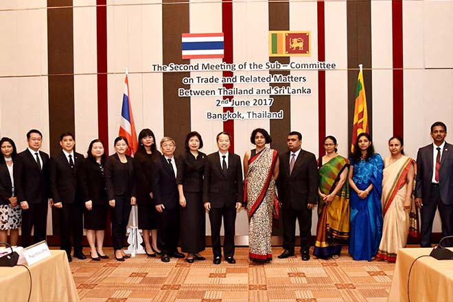 Sri Lanka to sign Strategic Economic Partnership with Thailand in August