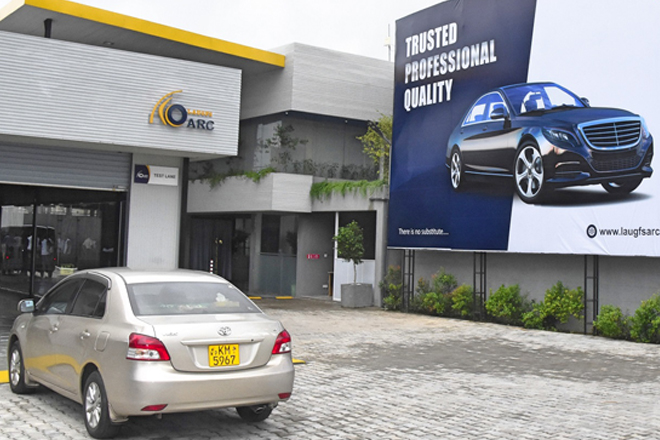 LAUGFS Launches Sri Lanka's first fully automated vehicle care centre
