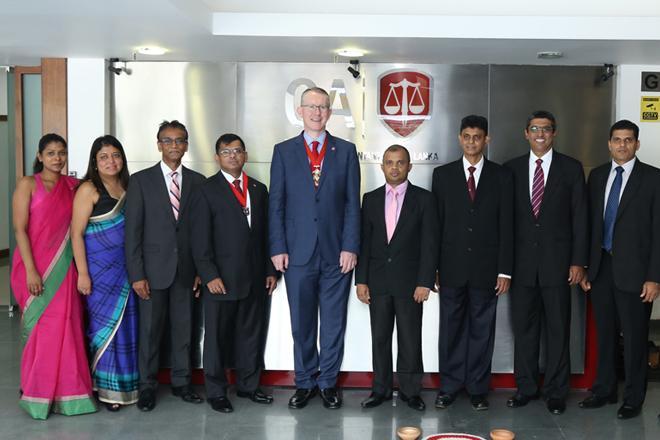 ACCA Global President visits CA Sri Lanka