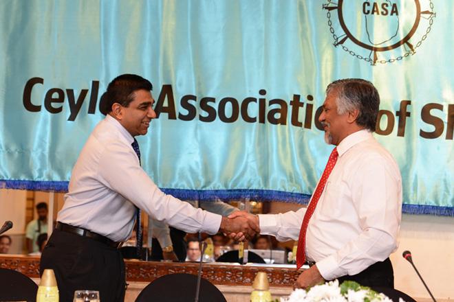 Ceylon Association of Shipping Agents elects Ruwan Waidyaratne as Chairman