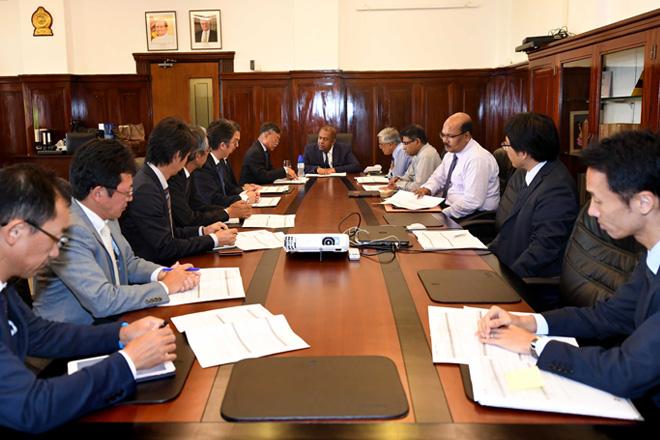 A Japanese delegation raises concerns over Sri Lanka's ad-hoc tax changes