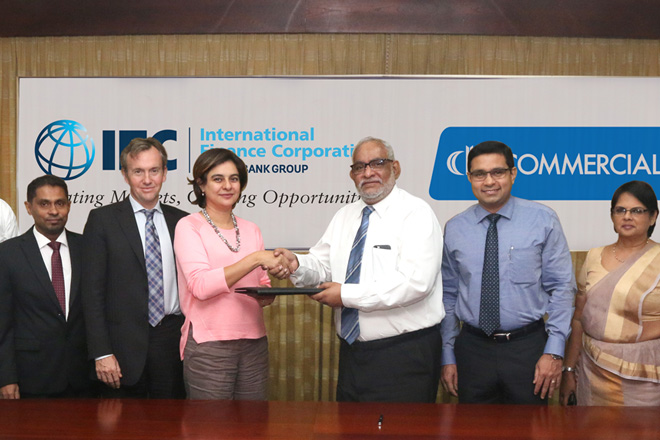 IFC partners with Commercial Bank to improve Sri Lanka green financing