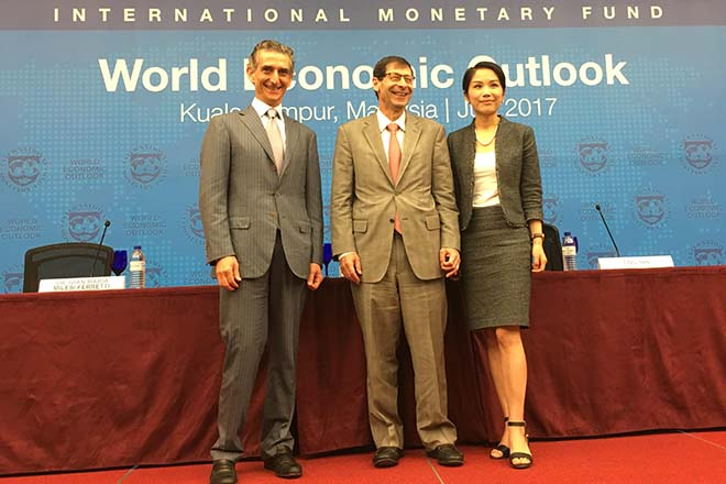 World Economic Outlook on track, emerging economies to see sustained pickup: IMF