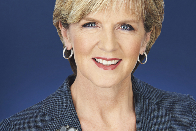 Australian Foreign Minister Julie Bishop to visit Sri Lanka