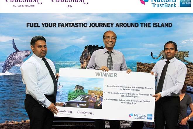 Nations Trust Bank American Express rewards Card member