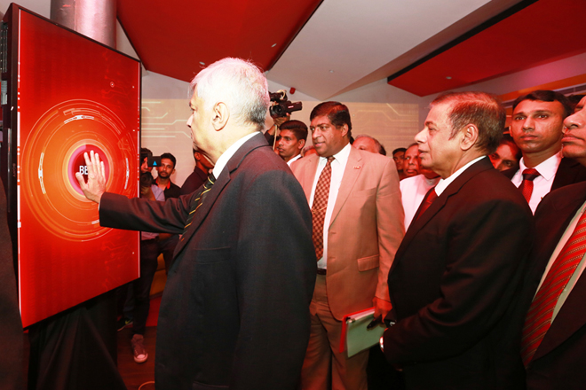 PM opens People's Bank Digital Centre at York Street branch