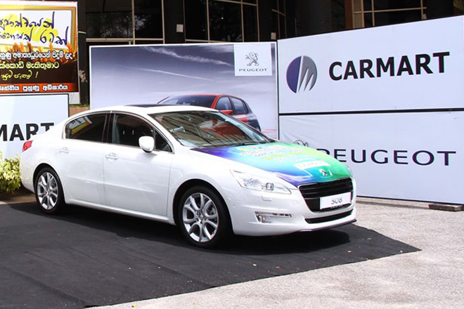 Peugeot & Carmart donate 2 brand new cars for engineering students