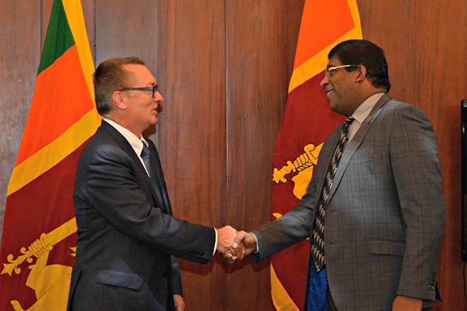 UN Under-Secretary-General for Political Affairs meets Sri Lanka's Foreign  Minister