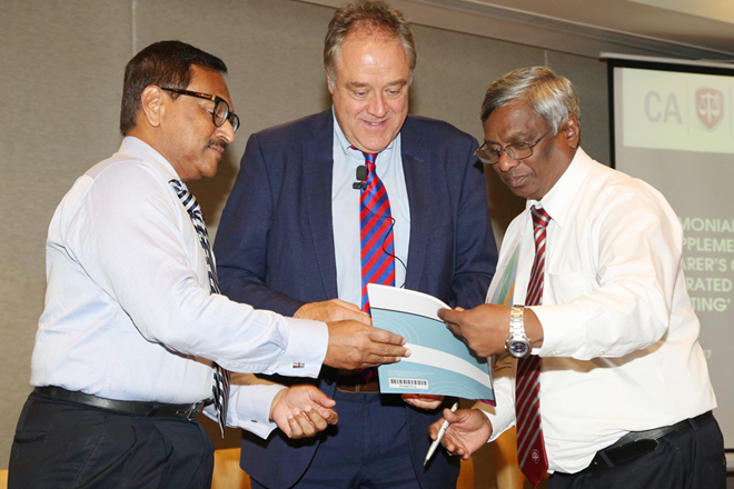 CA Sri Lanka, IRCSL launches supplement guide to integrated corporate reporting