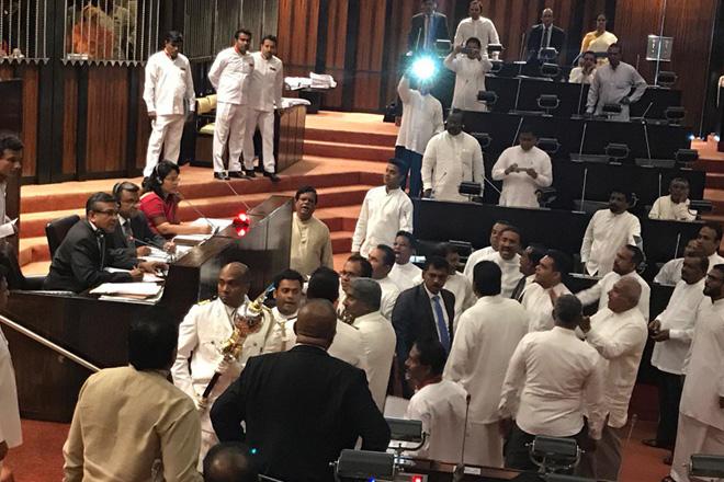 Parliament adjourns without debating Hambantota Port deal