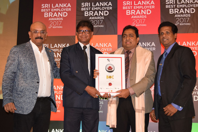 Bank of Ceylon confers Master Brand status by CMO Council Asia