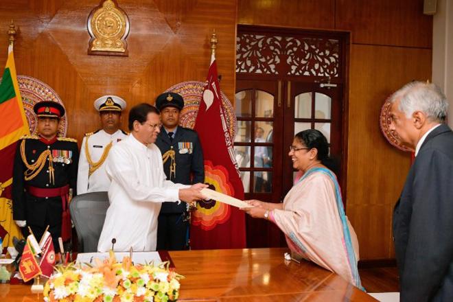 Sri Lanka's President fills vacant ministerial posts