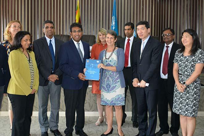 Sri Lanka, UN sign Sustainable Development Framework, USD 300 mln pledged