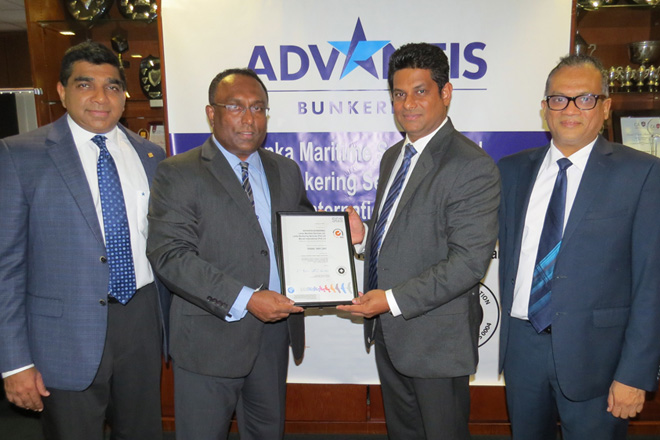 Advantis Bunkering strengthens commitment to safety with OHSAS certification