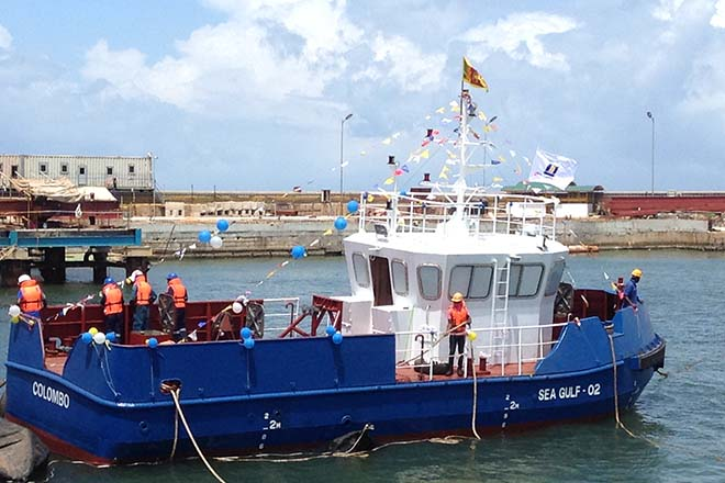 Walkers Colombo Shipyard Launches Second Vessel