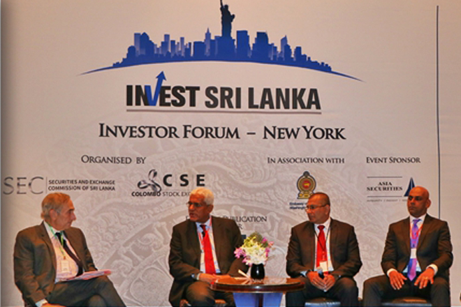 US investor community hears strong case for Sri Lanka in New York