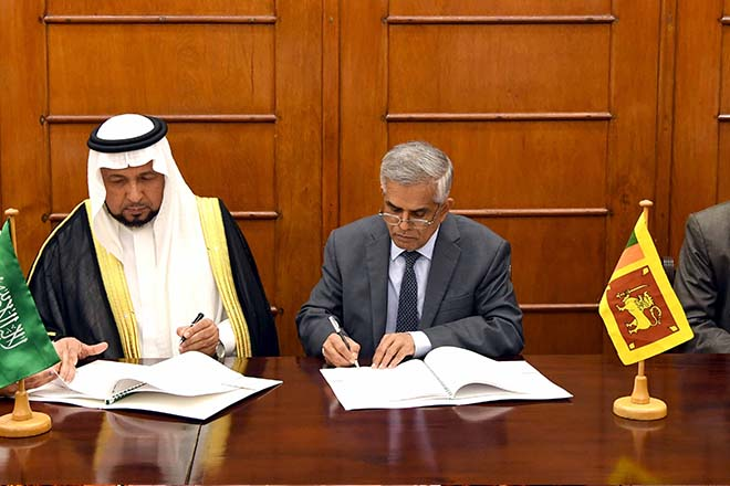 Sri Lanka gets USD73Mn from Saudi Fund for Development