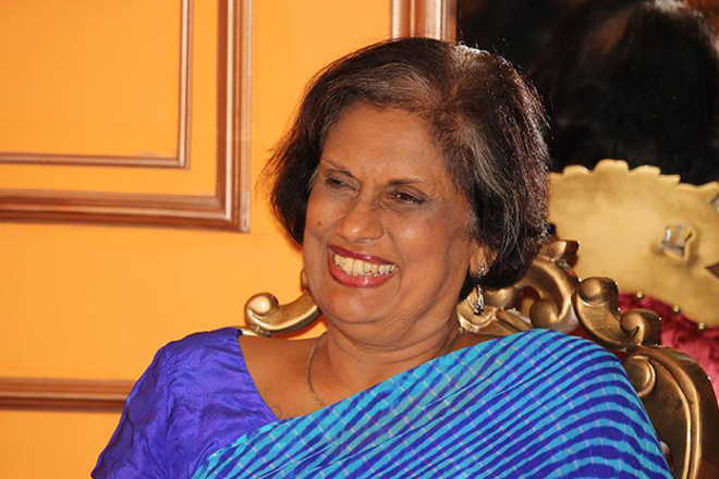 Dinner event with Chandrika Kumaratunga [July 13, 2016]