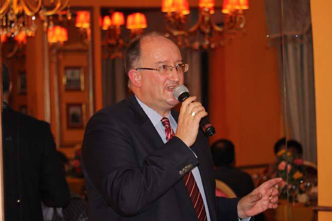 Dinner event with David Daly, EU Ambassador to Sri Lanka