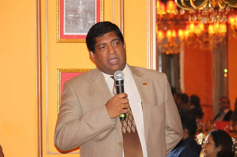 Dinner event with Minister Ravi Karunanayake [December 7, 2016]