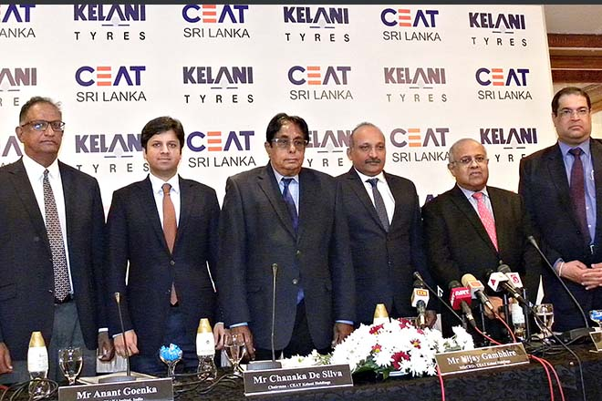 CEAT Kelani to invest Rs3Bn in local tyre industry , Eyes US market