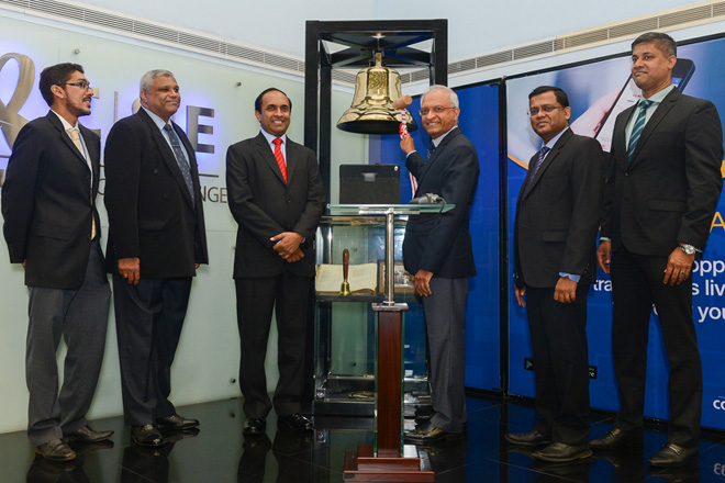 LVL Energy Fund rings opening bell at Colombo Stock Exchange