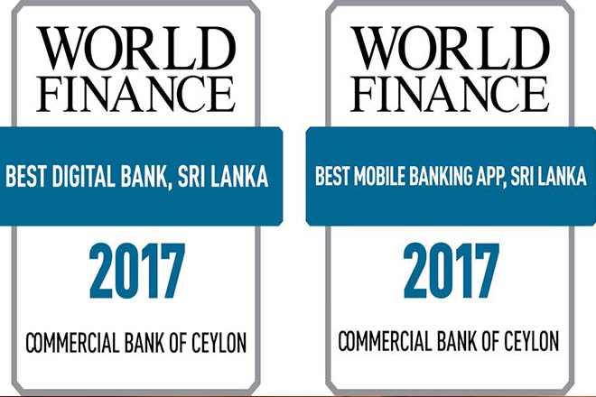World Finance declares COMBANK best in Sri Lanka for Digital & Mobile Banking