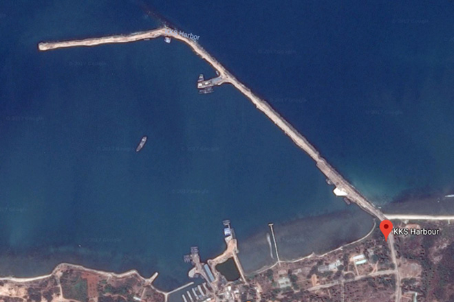 Indian govt to develop KKS harbour at a cost of USD 45Mn