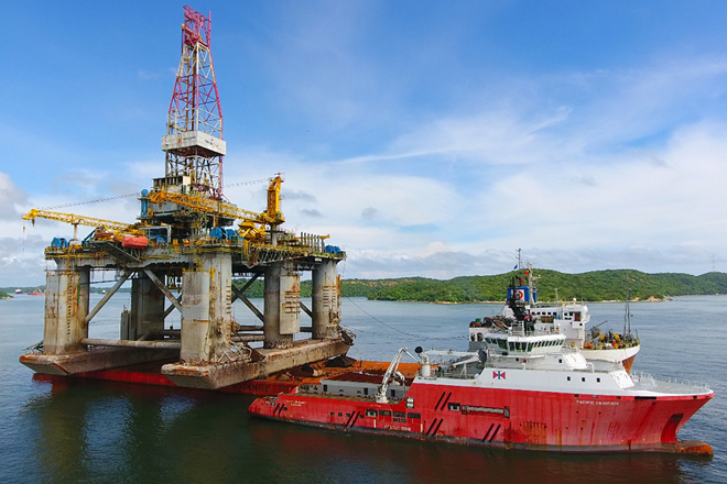 Hayleys Energy Services completes oil rig offloading project in Trincomalee
